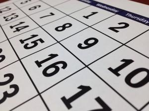 カレンダー 慢性